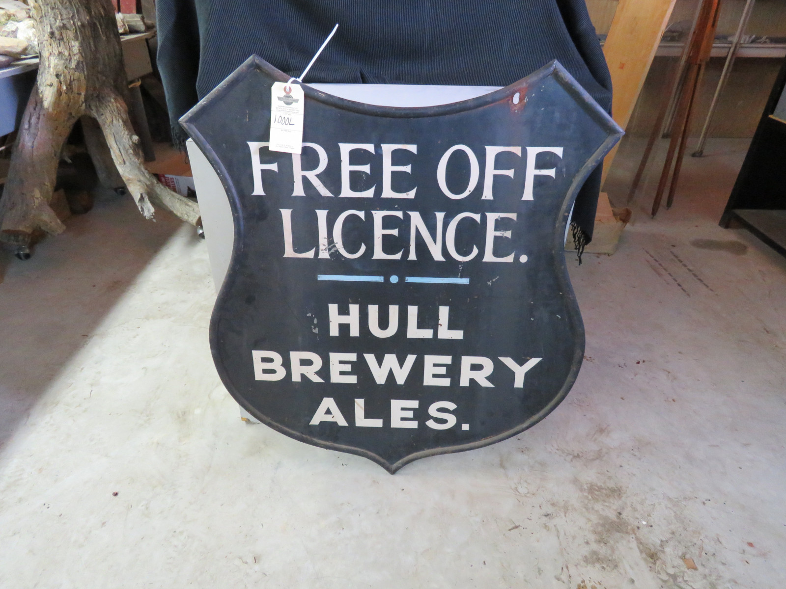 Hull Brewery Ales Painted Tin Sign - Image 1