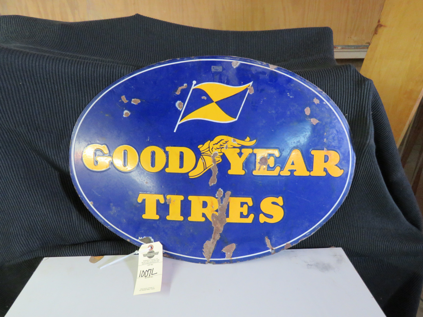 Goodyear Porcelain Sign - Image 1