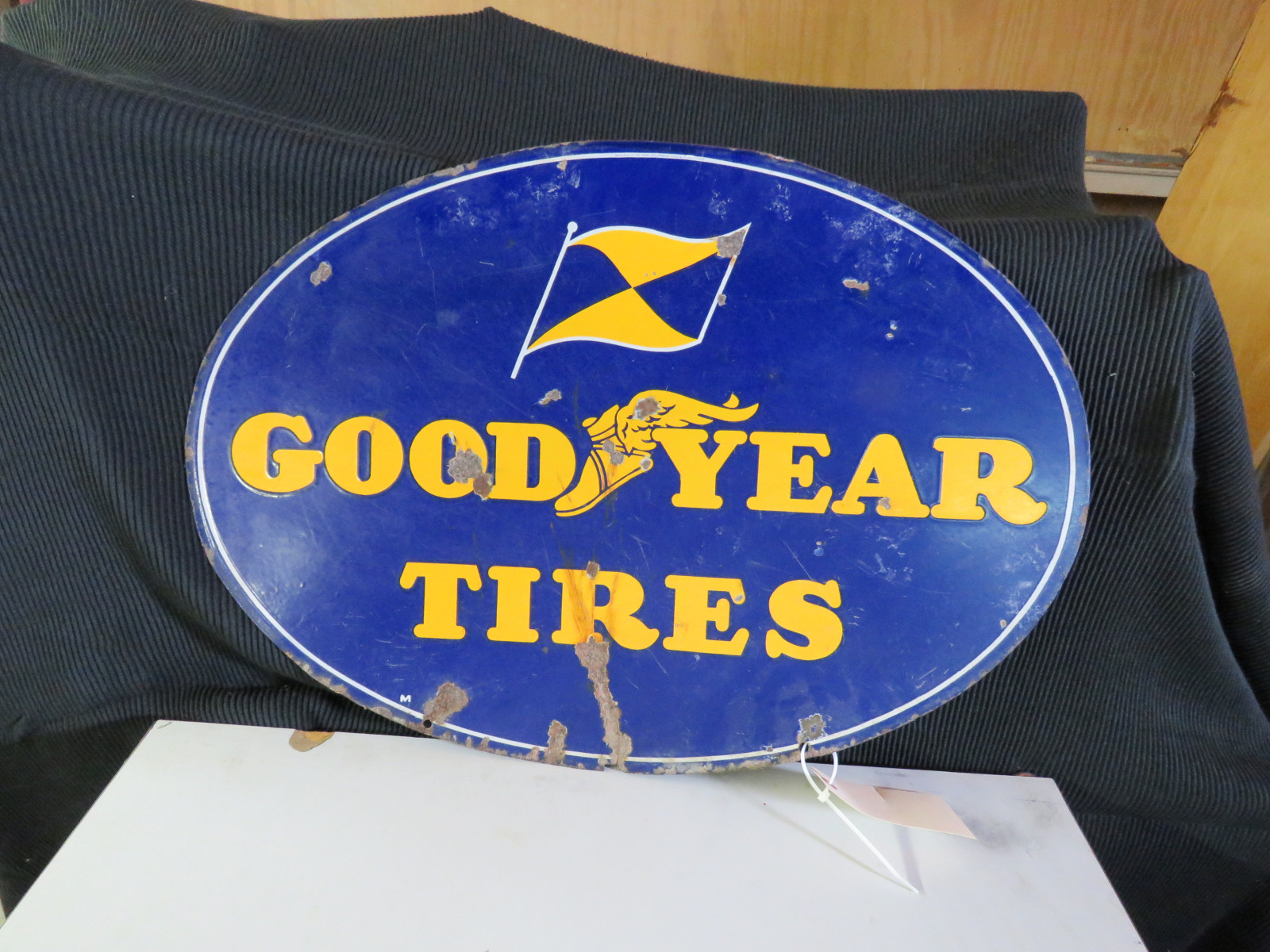 Goodyear Porcelain Sign - Image 2