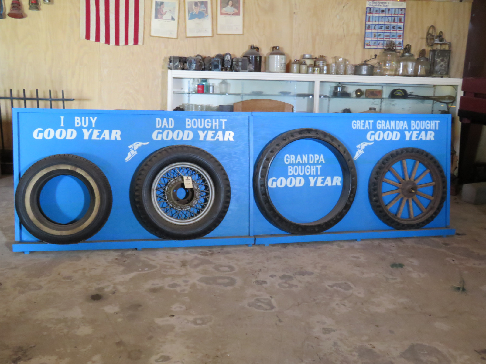 Goodyear Tire display - Image 1