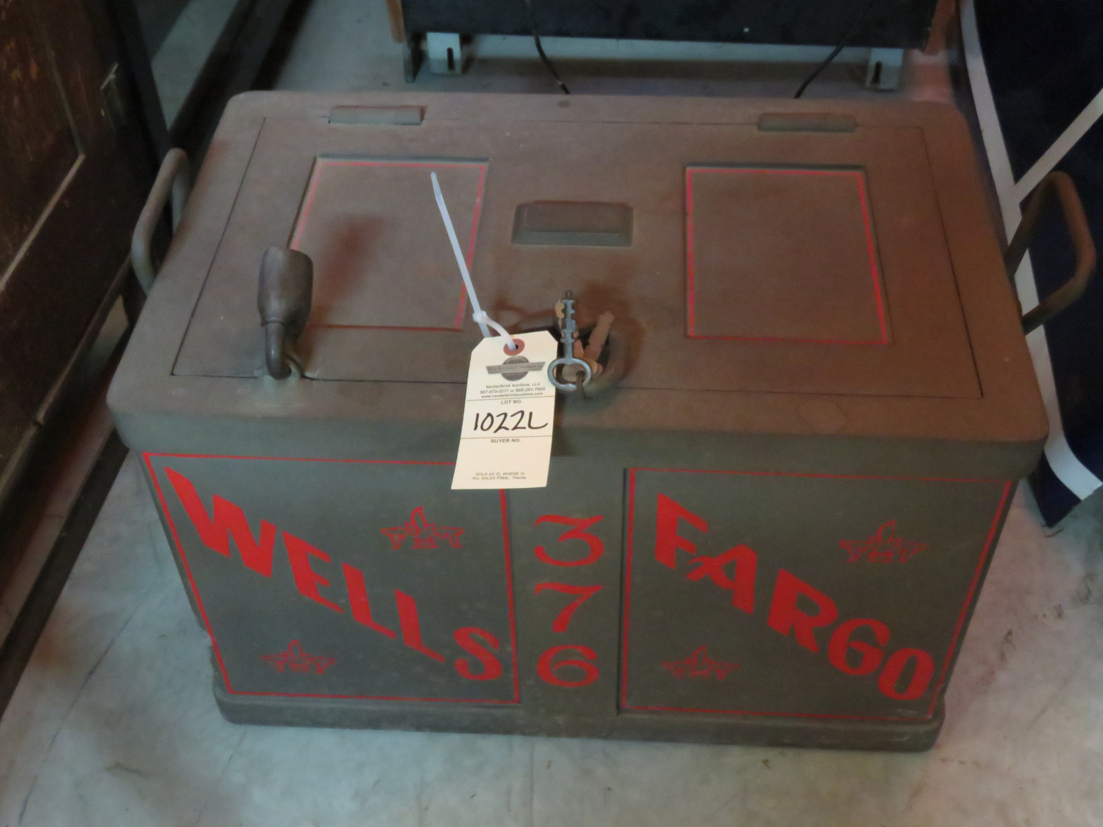 Wells Fargo Strong Box - Image 2