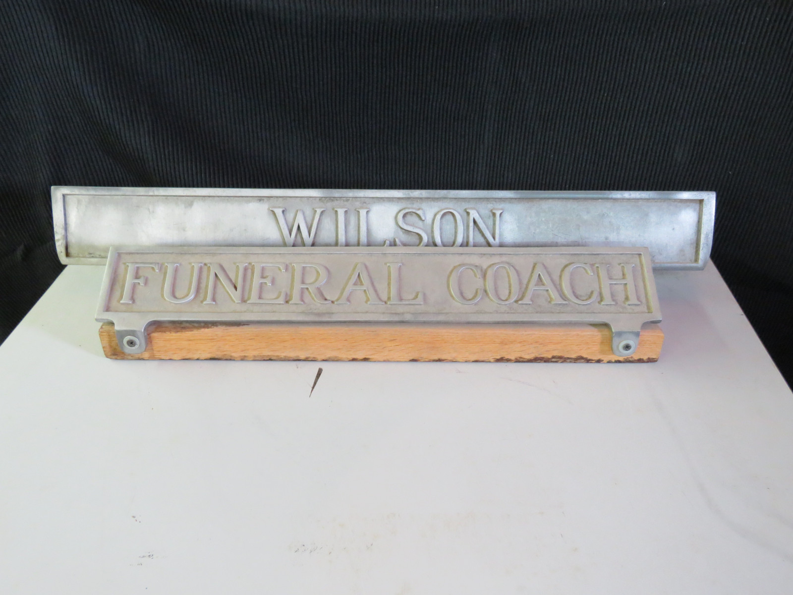Funeral-Hearse signs - Image 1