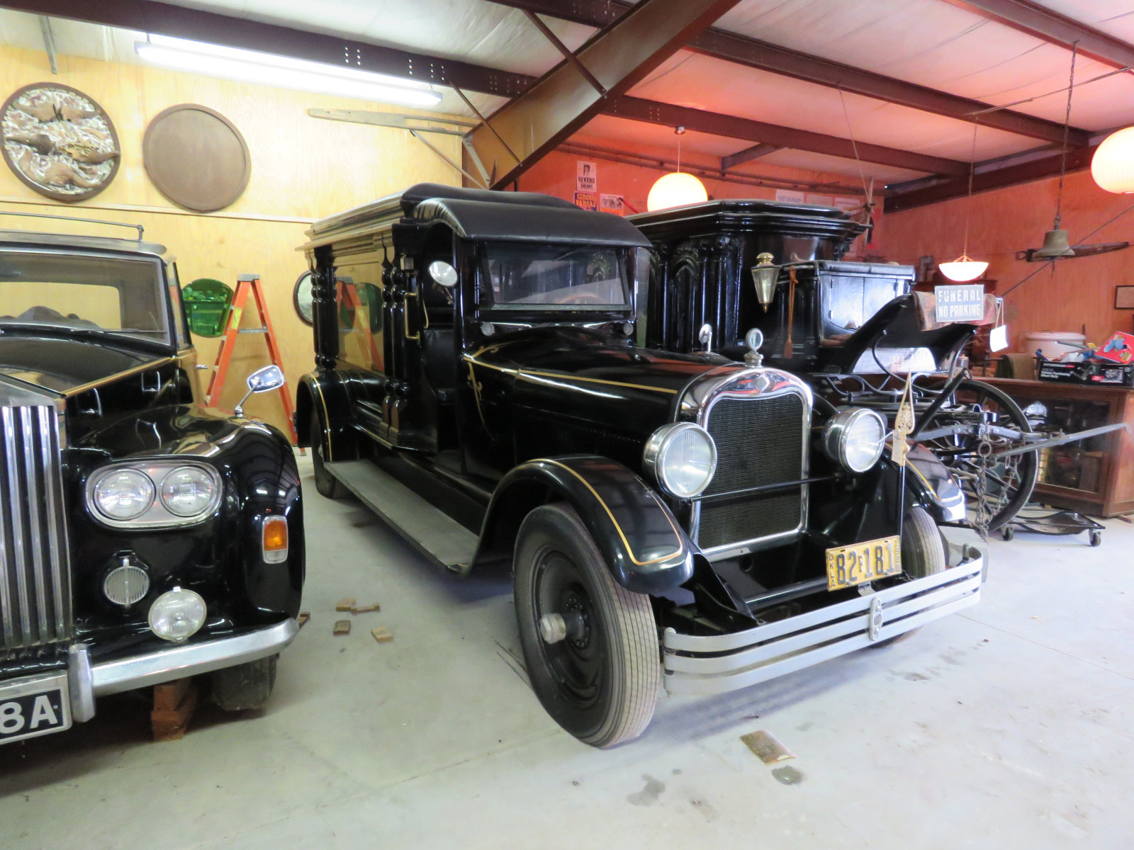 Rare 1928 Henney Hearse - Image 1