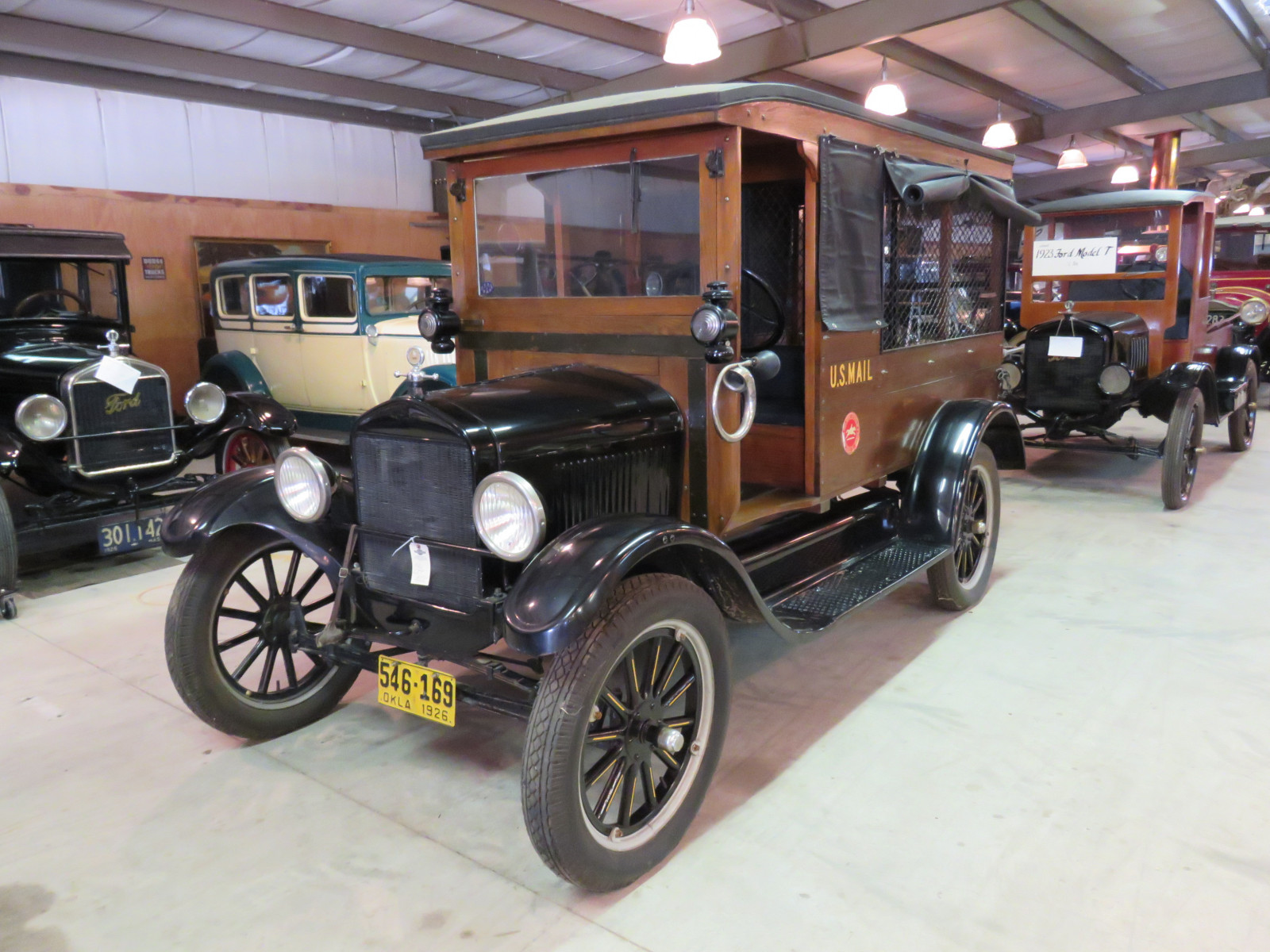 1926 Ford Model T Mail Truck - Image 1