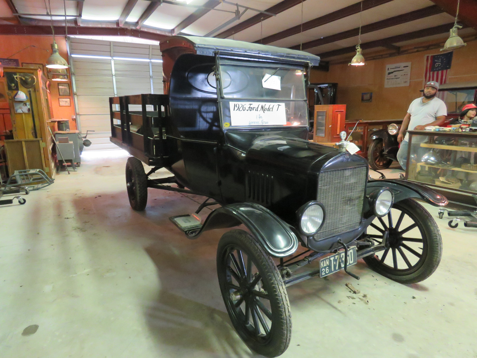 1926 Ford Model T Stakebed Truck - Image 3