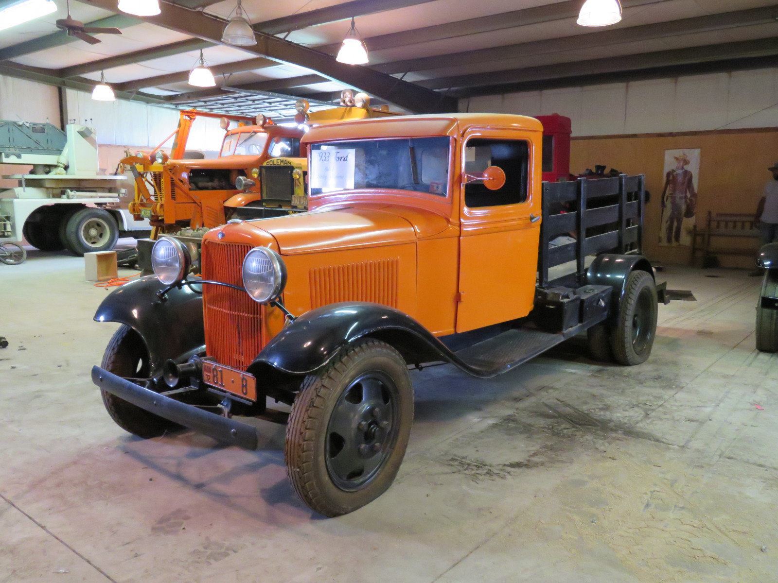 1932 1/2 Ford Model B Stake Bed Truck - Image 3