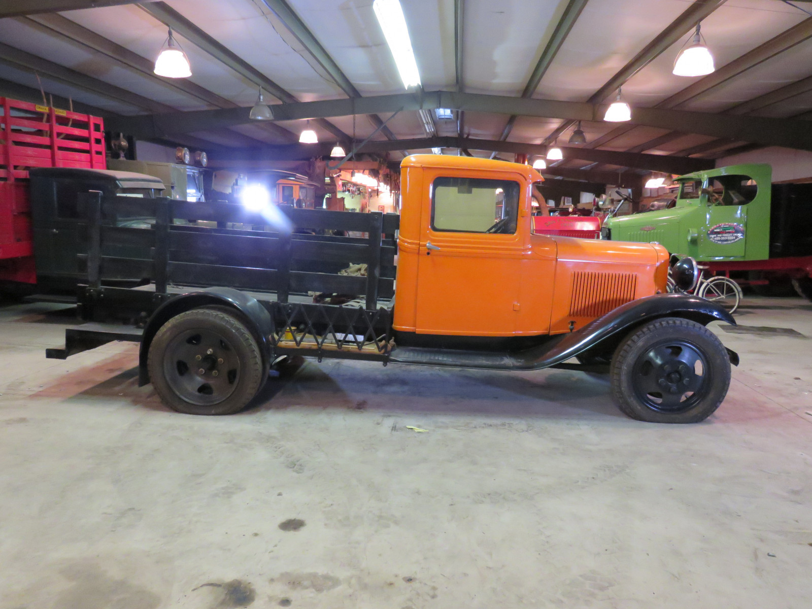1932 1/2 Ford Model B Stake Bed Truck - Image 5