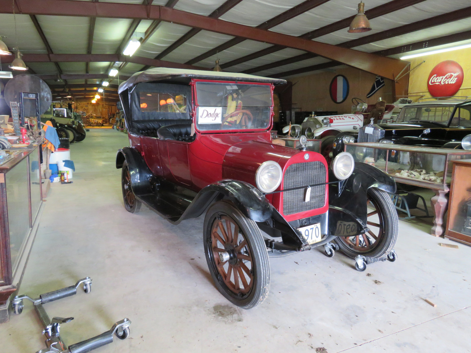 1918 Dodge Brothers Model J.E. (30) 4dr Touring Car - Image 1