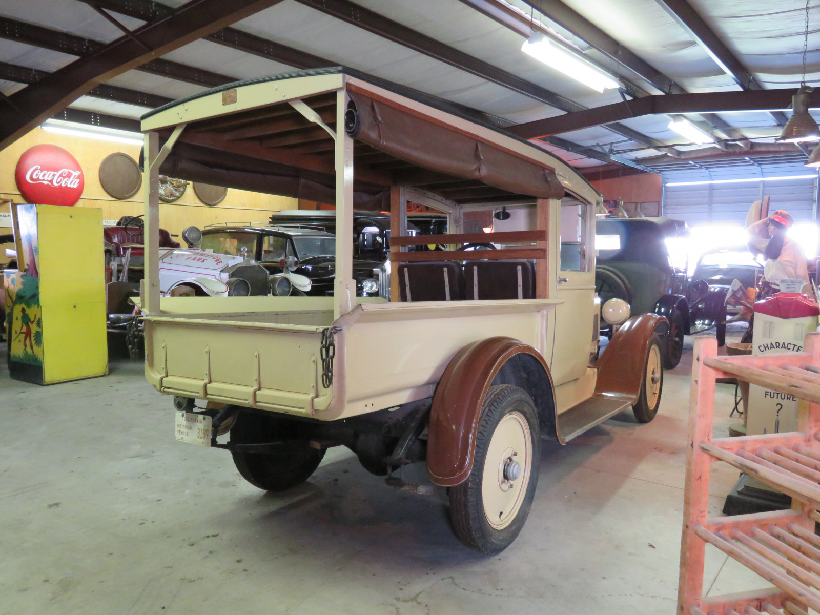 1929 dodge Brothers-Graham Canopy Express Truck - Image 7