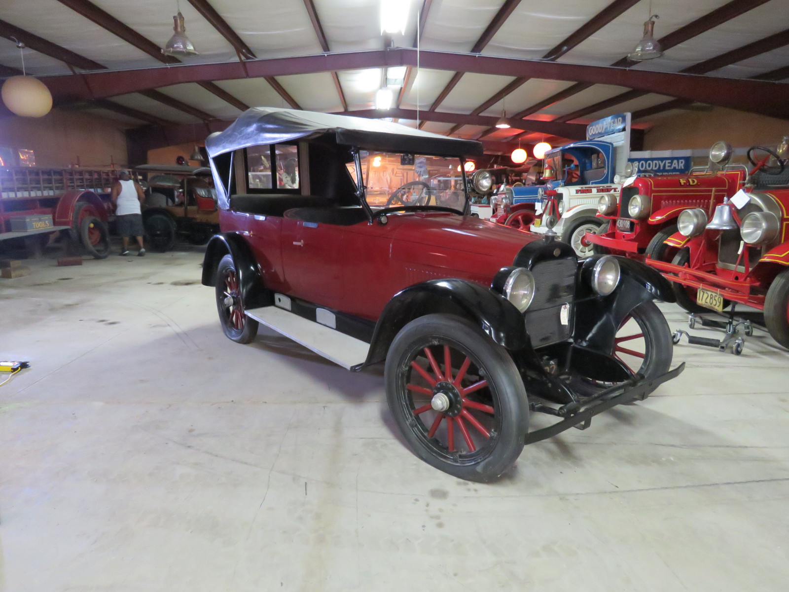 1917 Nash 4dr Touring Car - Image 1