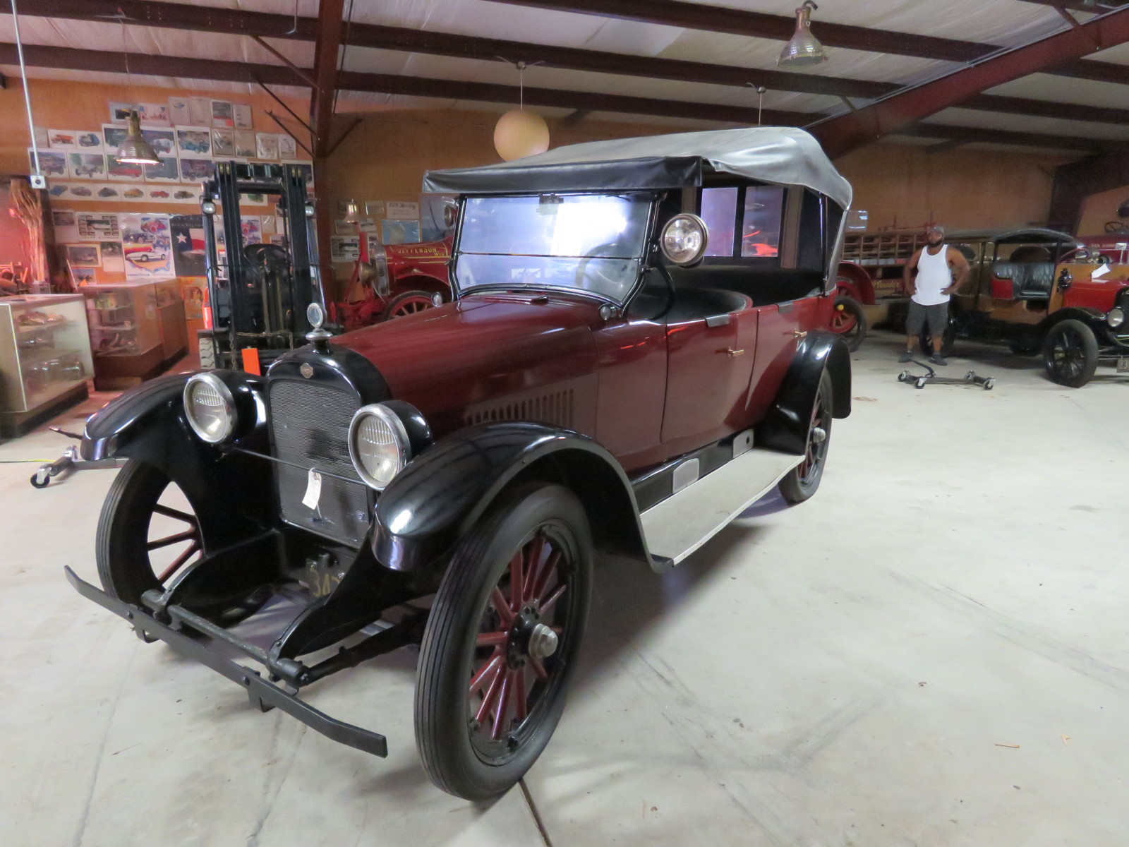 1917 Nash 4dr Touring Car - Image 3