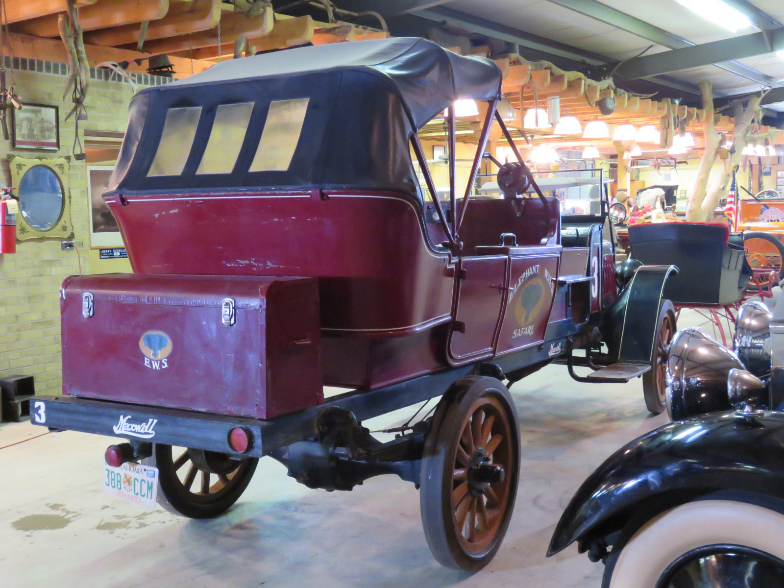 RARE 1919Maxwell  Canopy Express Truck - Image 11