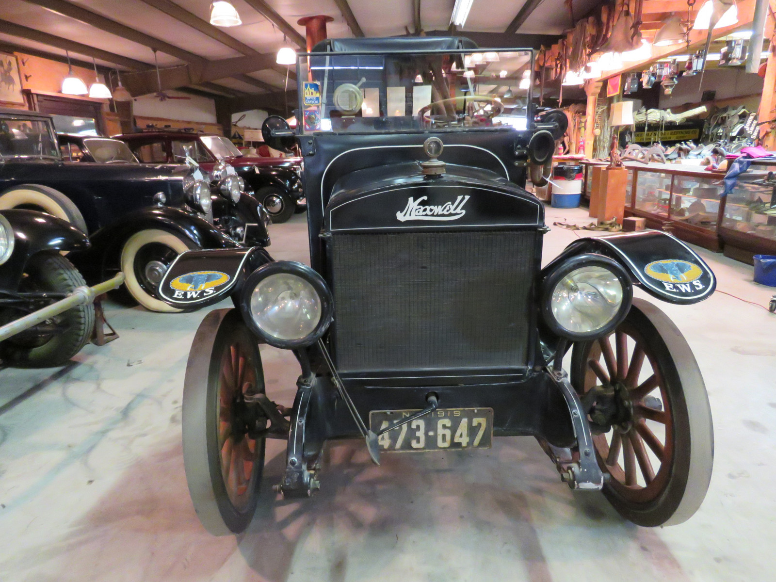 RARE 1919Maxwell  Canopy Express Truck - Image 3