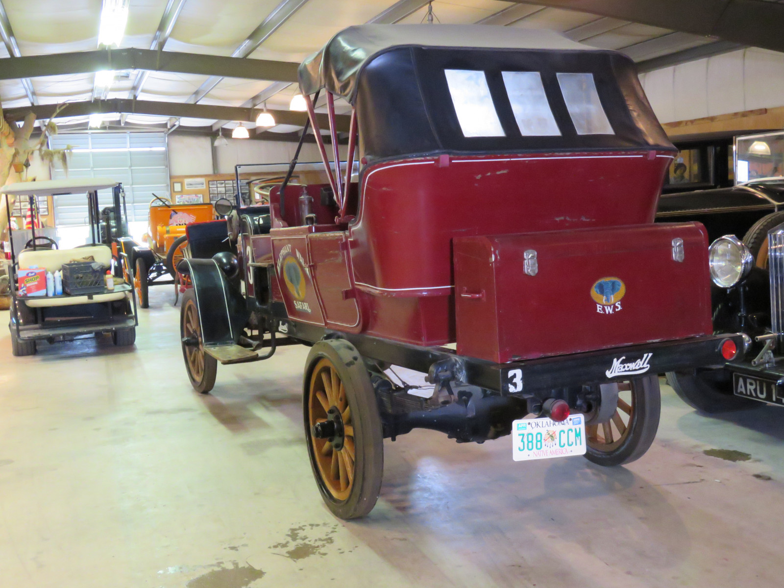RARE 1919Maxwell  Canopy Express Truck - Image 9