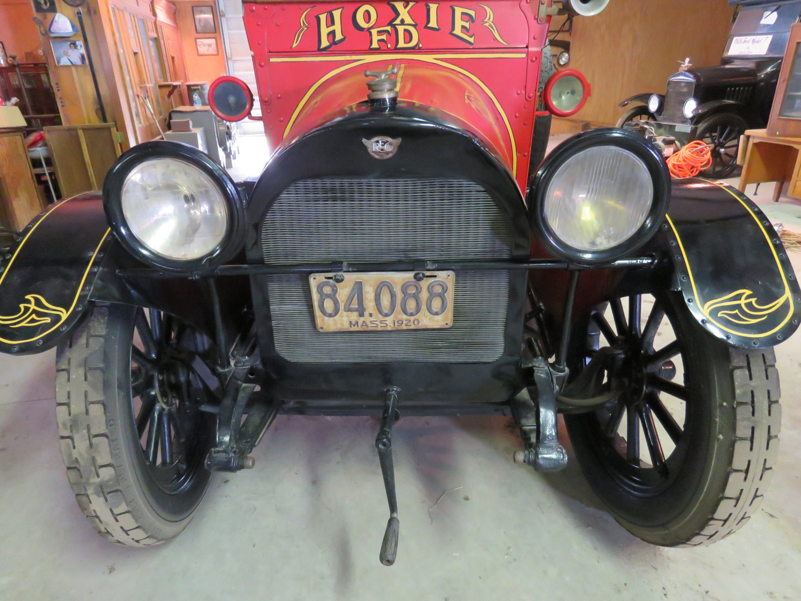 Rare 1920 REO Speedwagon Canopy Express Truck - Image 8