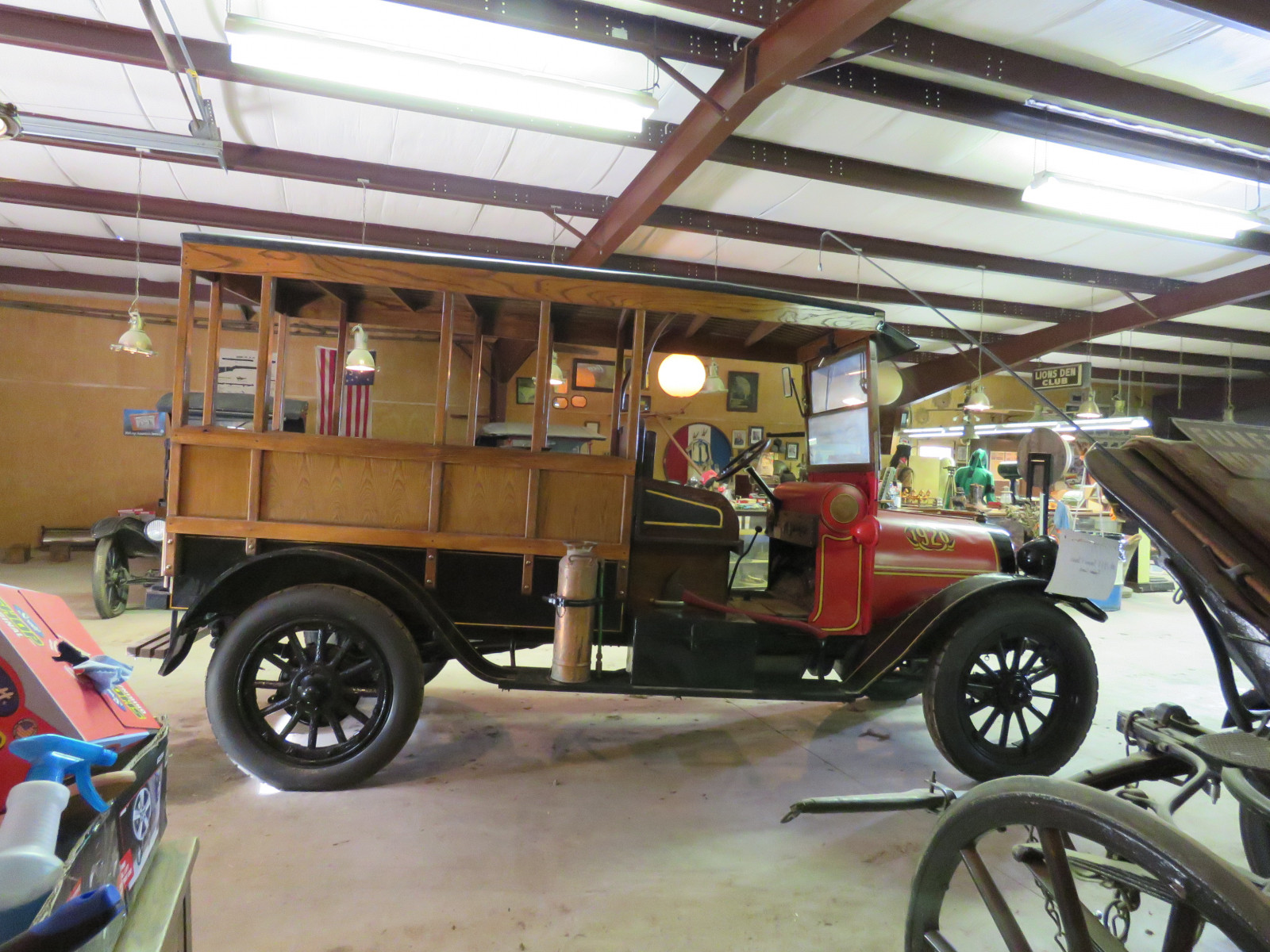 Rare 1920 REO Speedwagon Canopy Express Truck - Image 9
