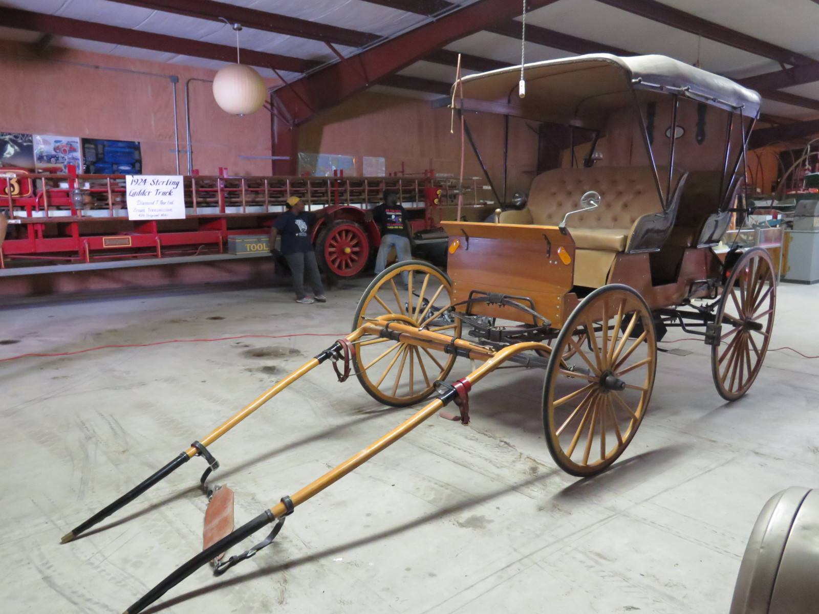 Horse Drawn 2 Seated Buggy - Image 1