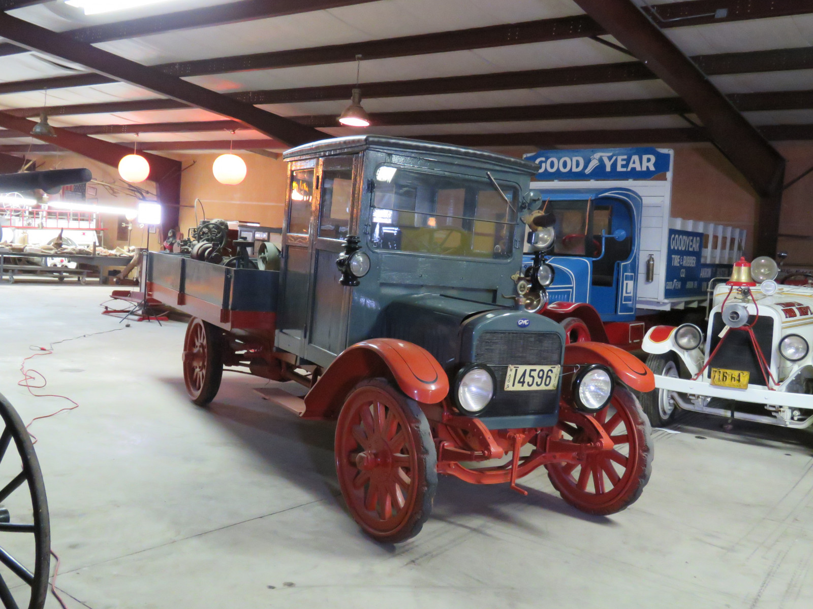 RARE 1916 GMC Closed Cab Model K16 Truck - Image 1