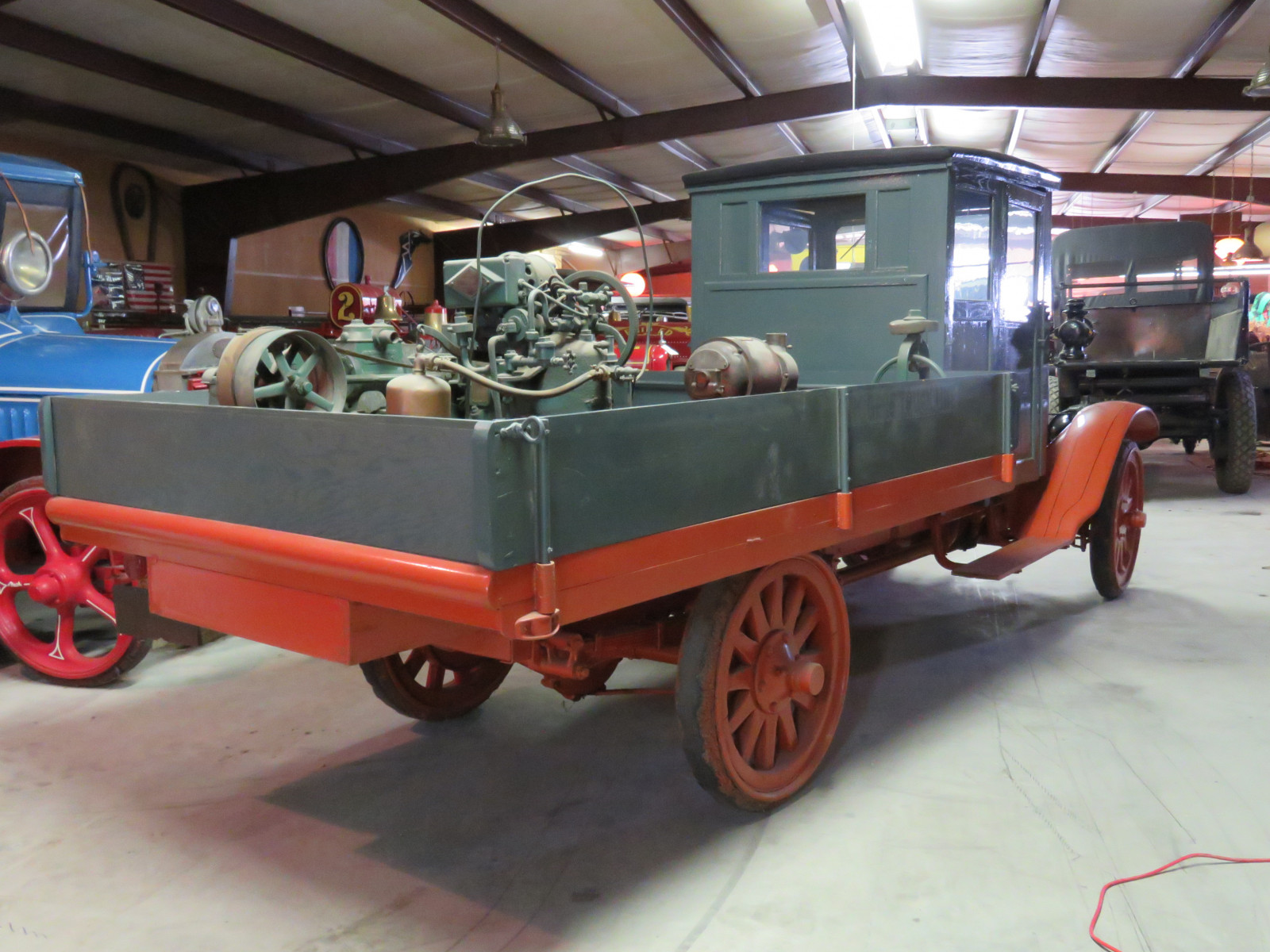 RARE 1916 GMC Closed Cab Model K16 Truck - Image 6