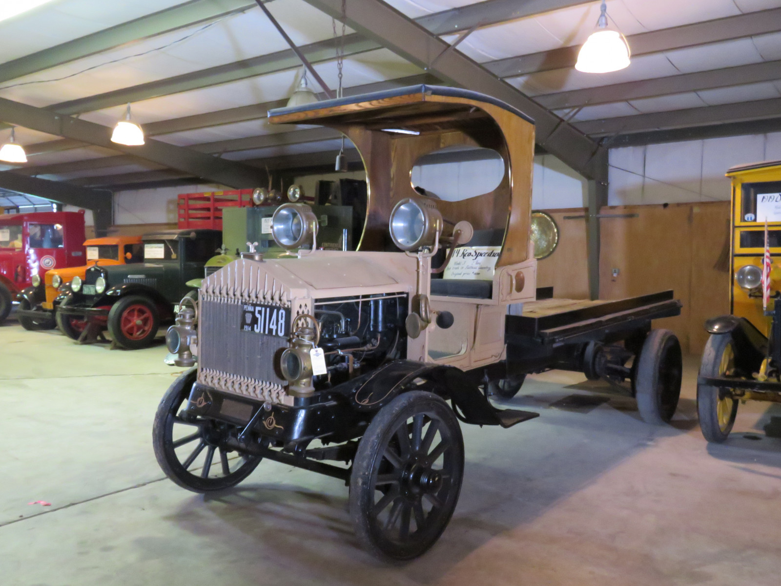 1914 REO Speedwagon Model J 2 Ton Truck - Image 3