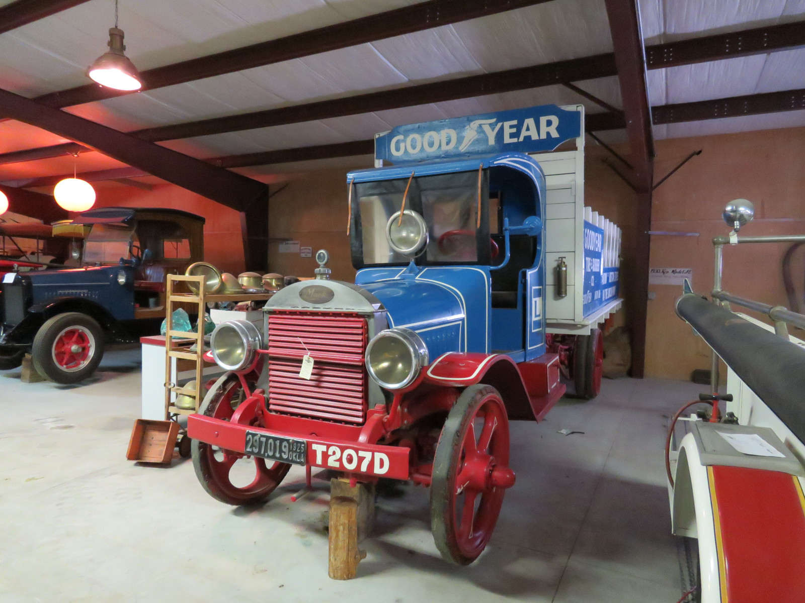 Rare 1925 Mack Model AB 2 Ton Truck with Goodyear Advertising - Image 1
