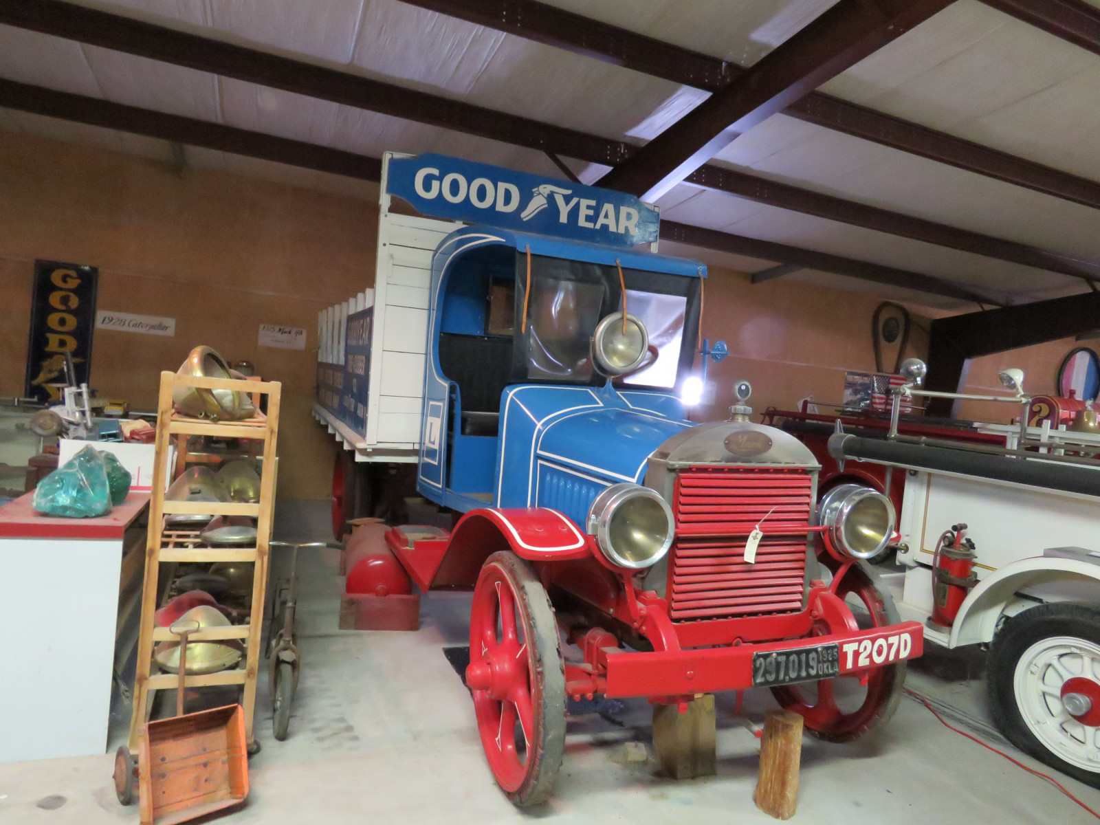 Rare 1925 Mack Model AB 2 Ton Truck with Goodyear Advertising - Image 2