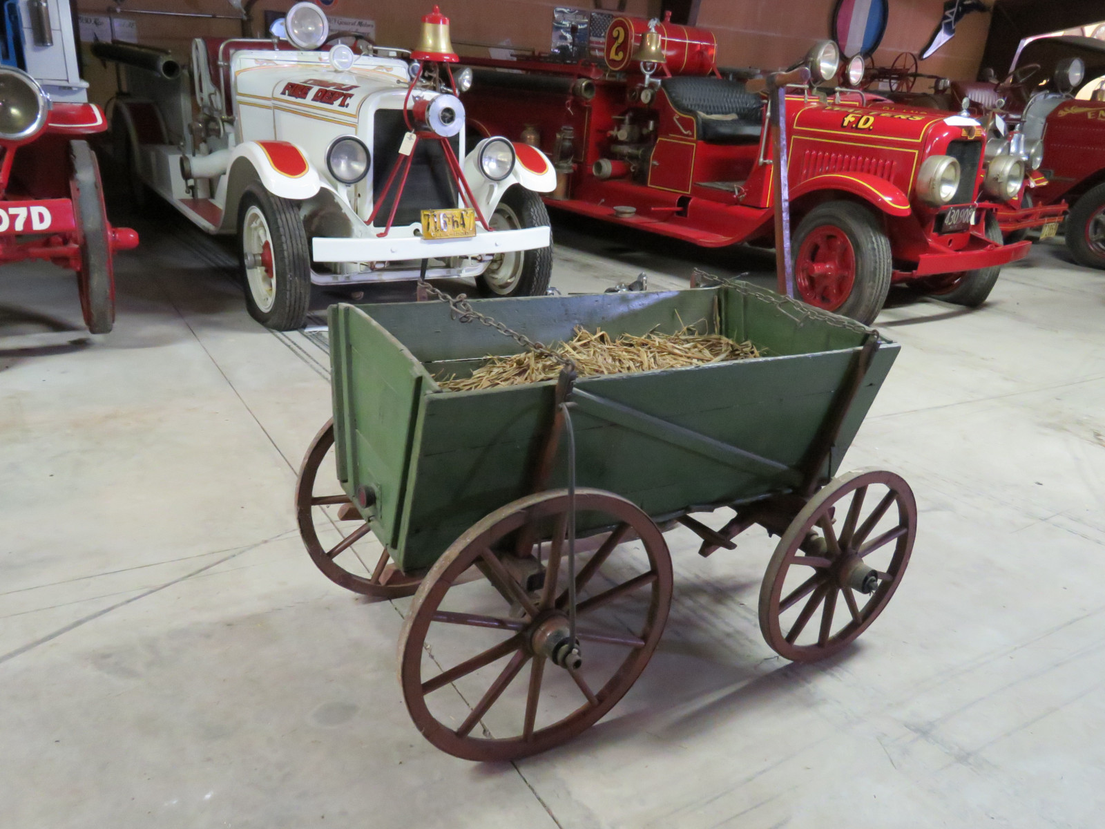 Vintage Wooden Wheel Wagon - Image 2
