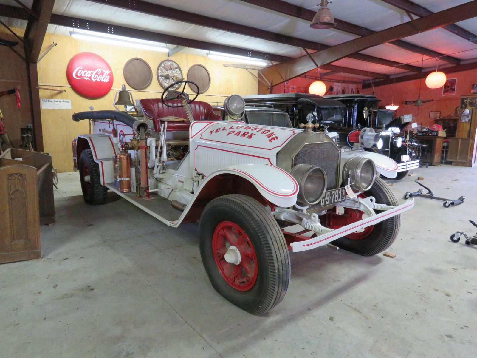1922 American LaFrance Fire Truck 4108 - Image 5