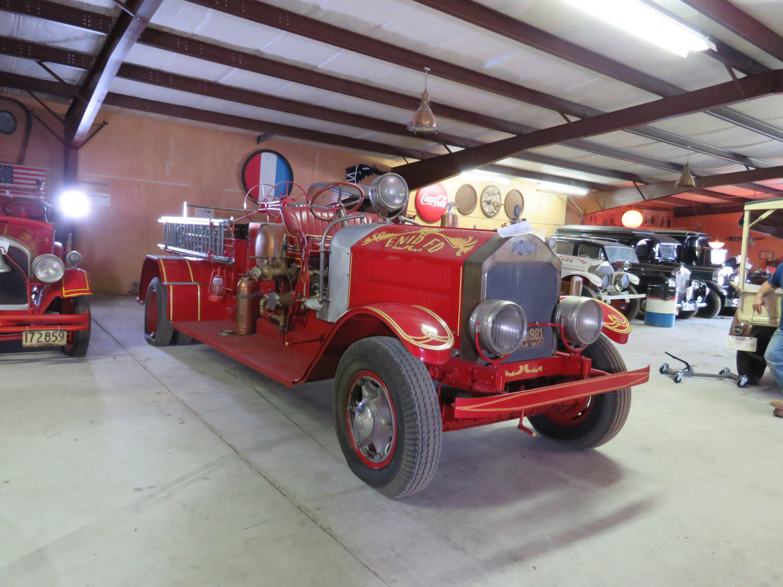 1927 American LaFrance Fire Truck 6107 - Image 1