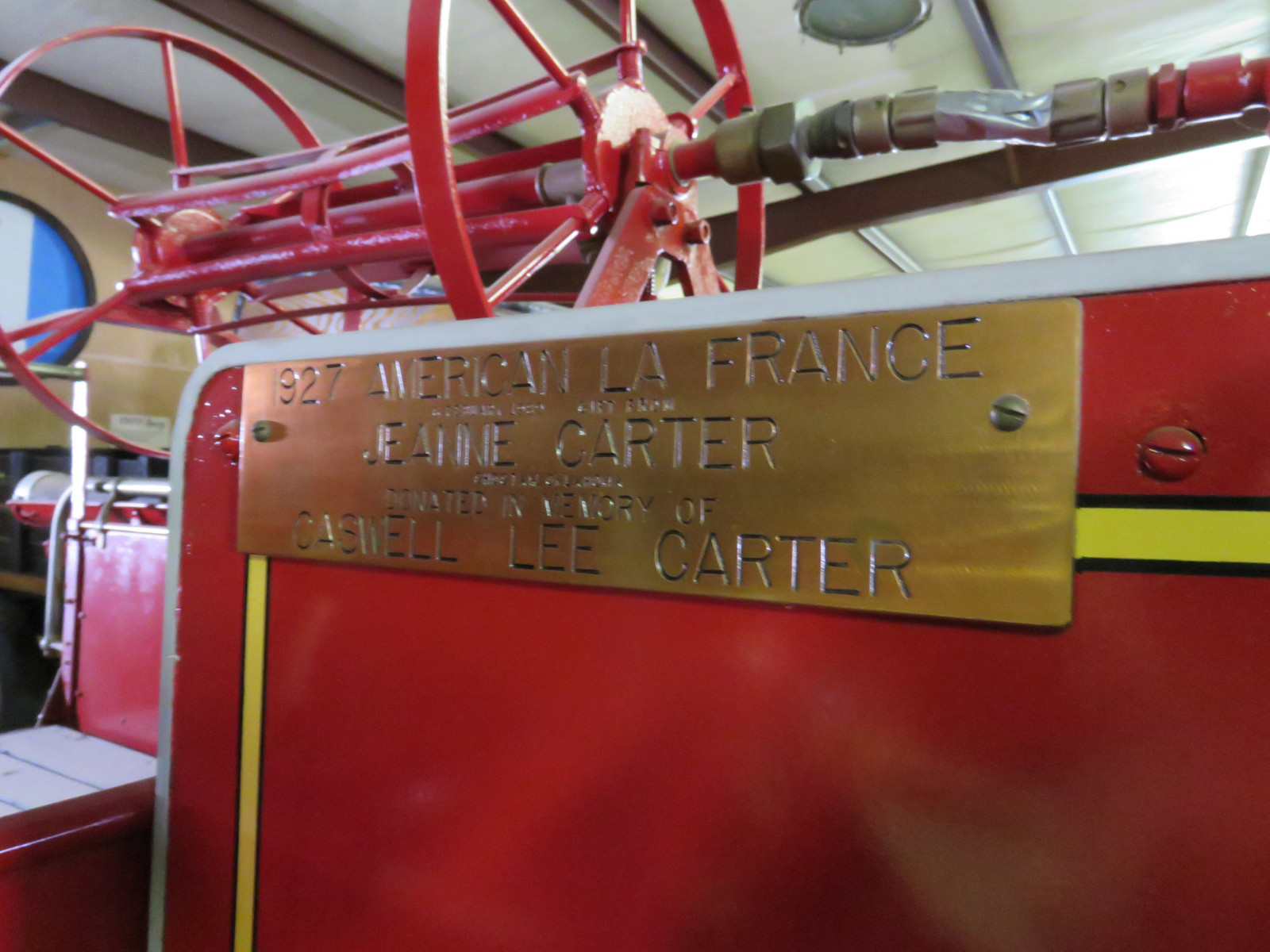 1927 American LaFrance Fire Truck 6107 - Image 11