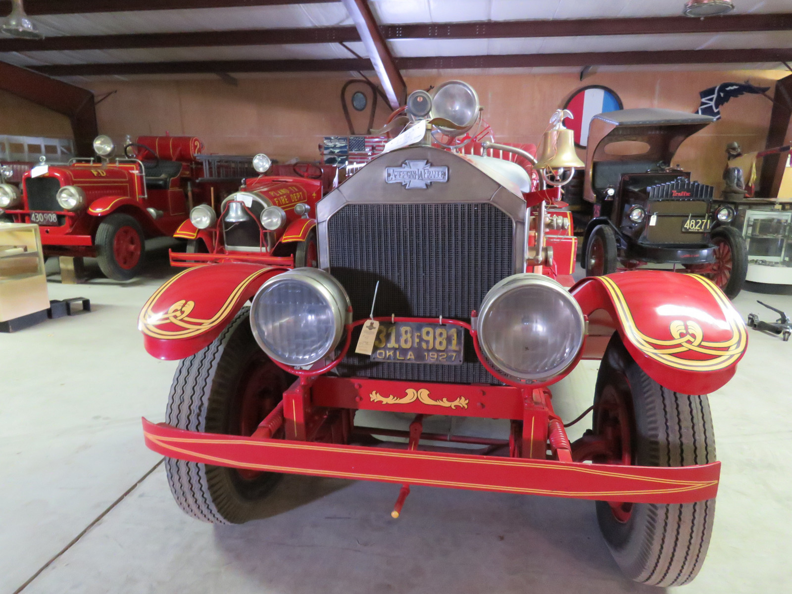 1927 American LaFrance Fire Truck 6107 - Image 2