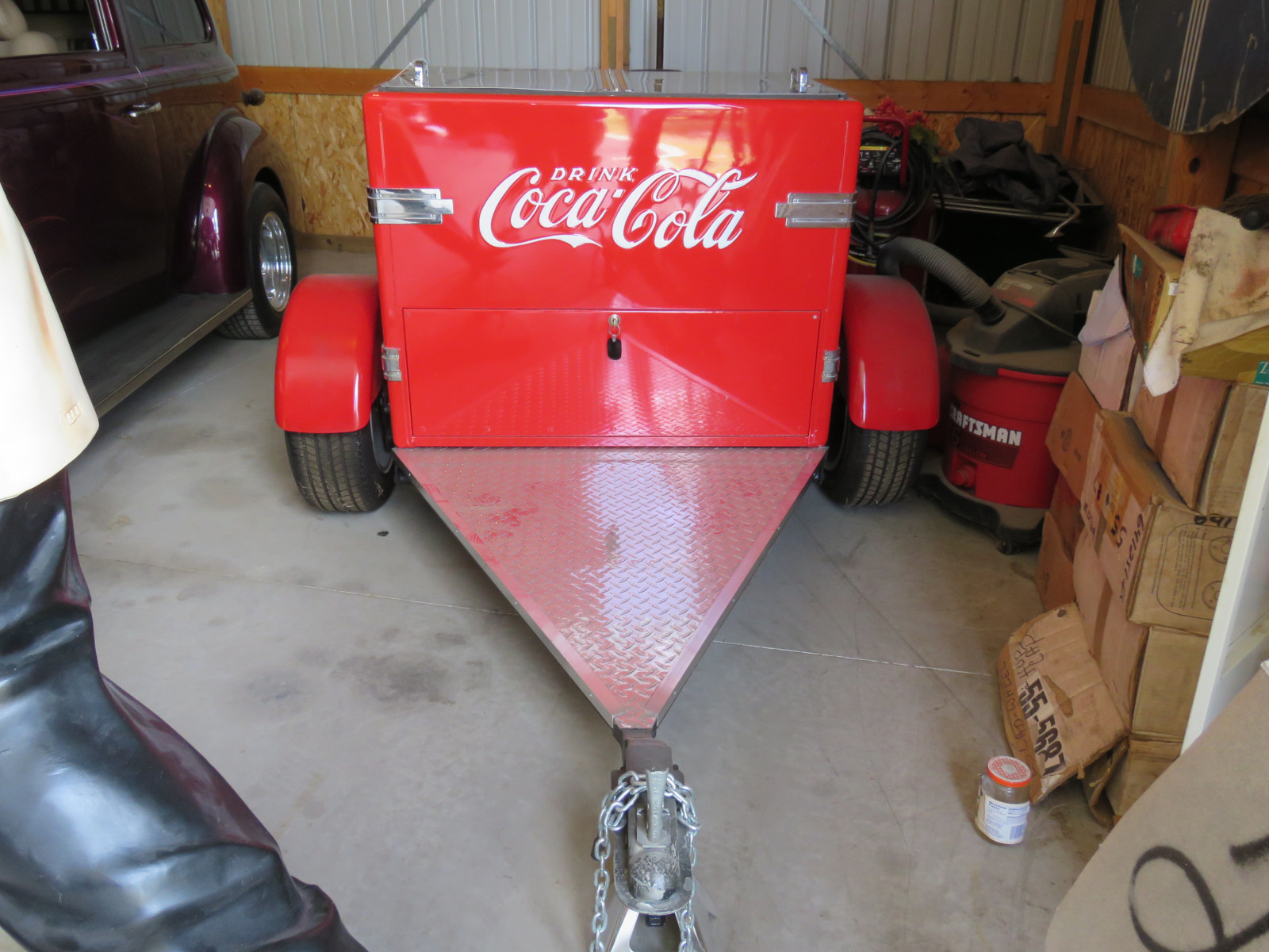 Coca Cola Cooler Trailer - Image 1