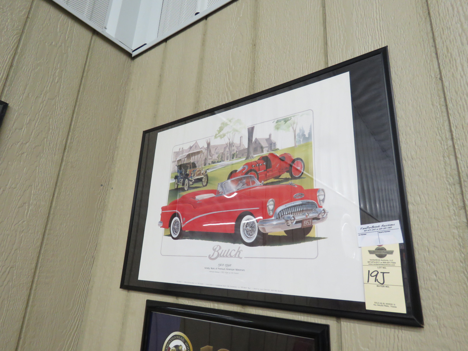Buick Limited Edition Framed Print - Image 1