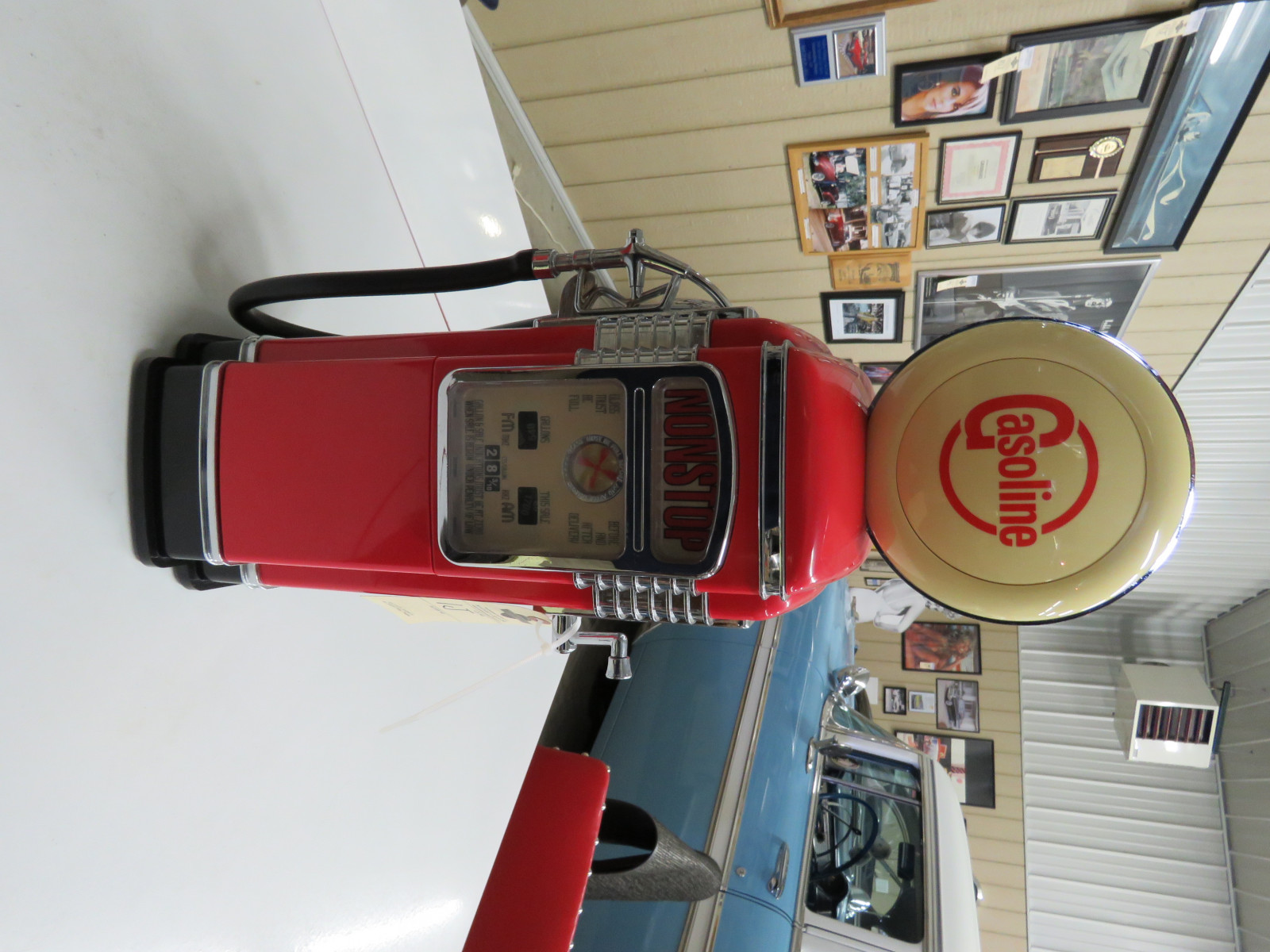 Plastic Model Gas Pump - Image 1