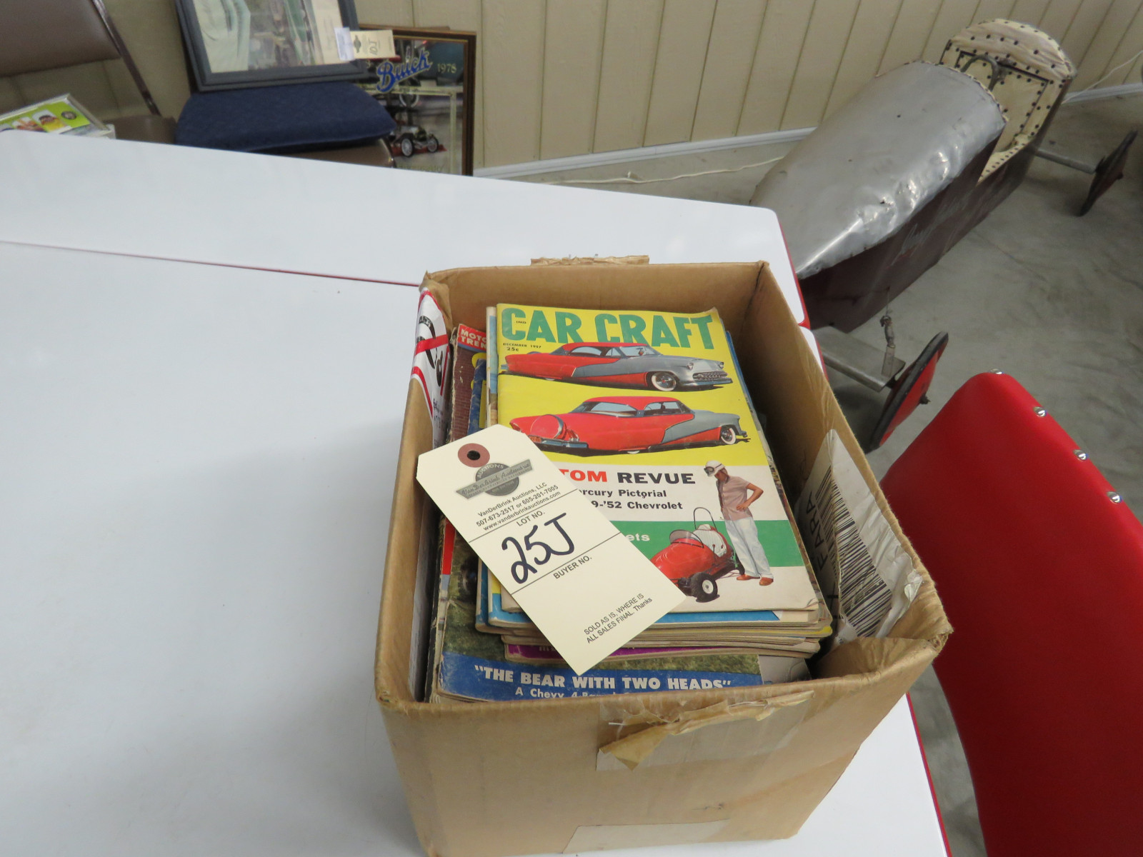 Vintage Car Craft Magazines - Image 1