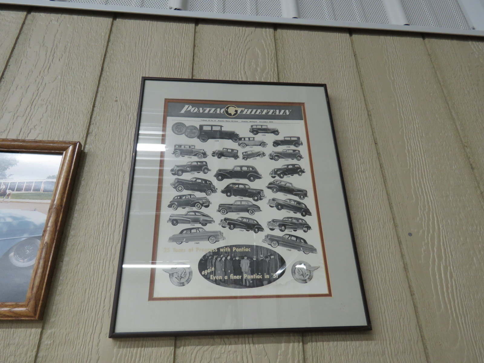 Pontiac Advertising -Framed - Image 1