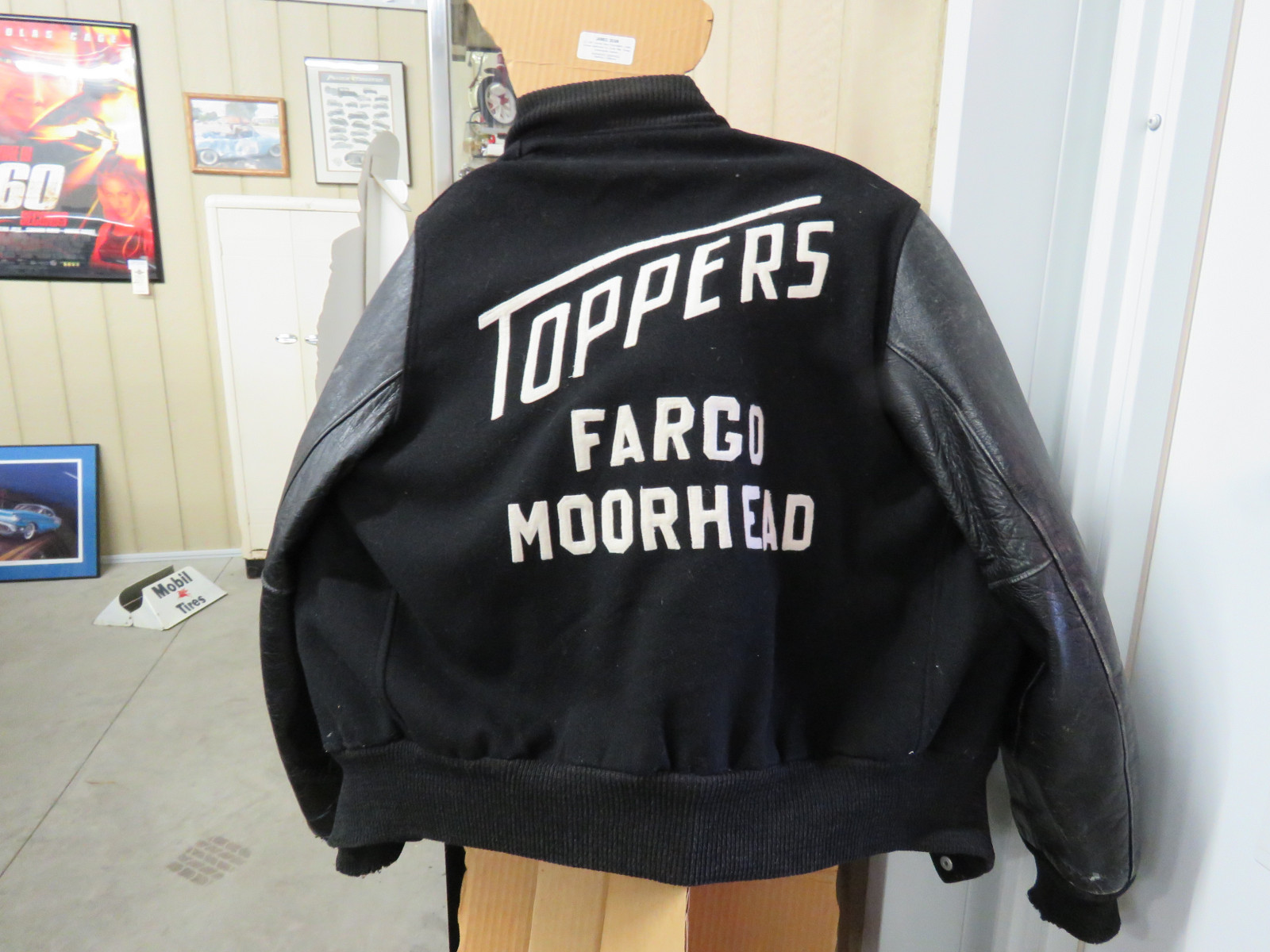 Topper Car Club Letter Jacket - Image 2