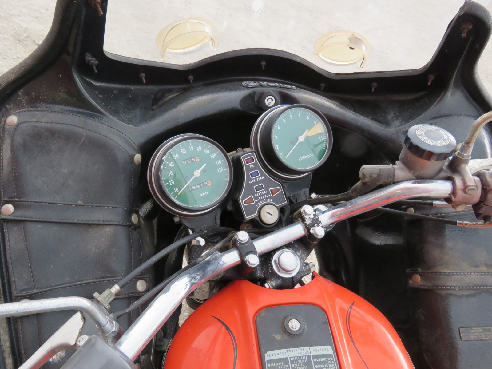 1975 Honda 550 Four Motorcycle - Image 3