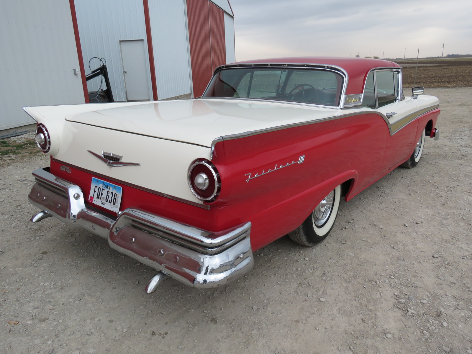 1957 Ford Fairlane 500 Skyliner Retractable hard Top - Image 7