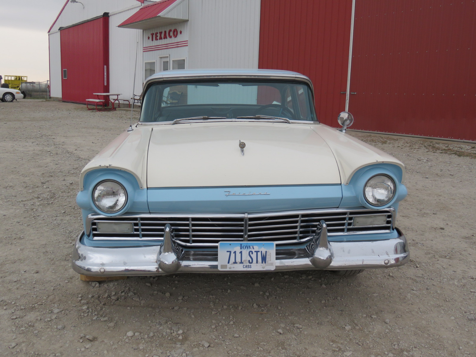 1957 Ford Fairlane 500 4dr Sedan - Image 2
