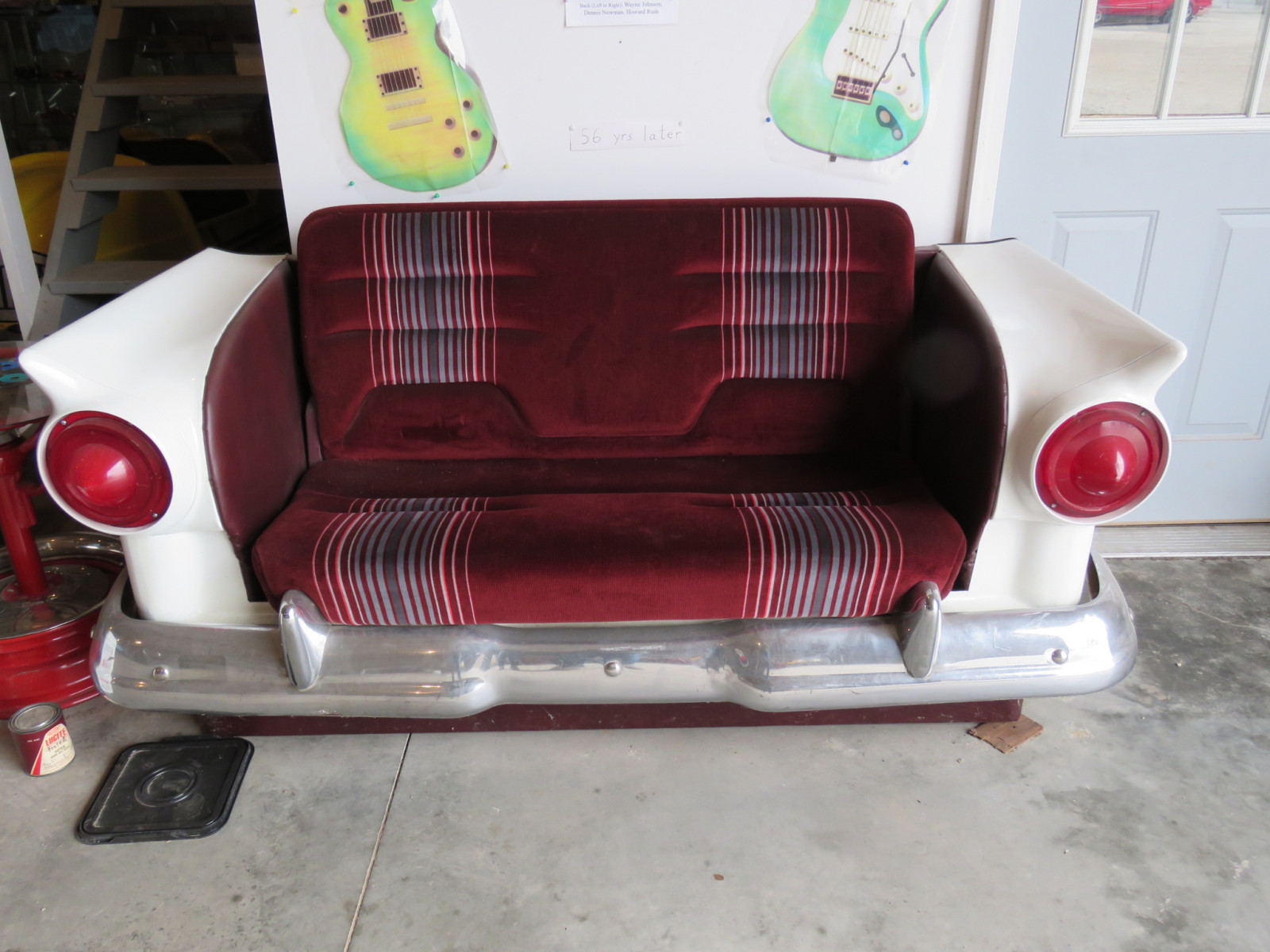 1957 Ford Fiberglass Couch - Image 1