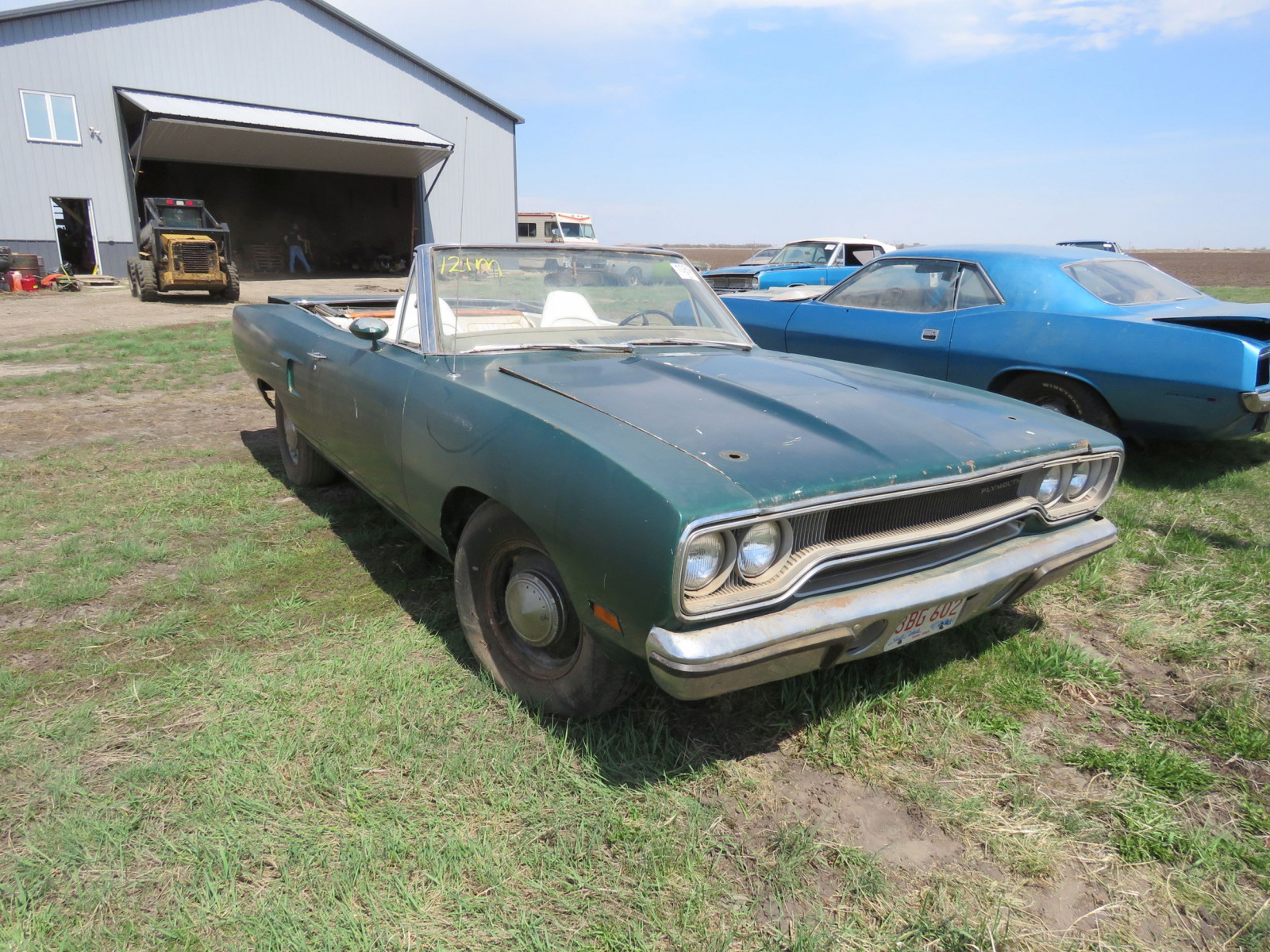RARE 1970 Plymouth Road Runner Convertible - Image 1