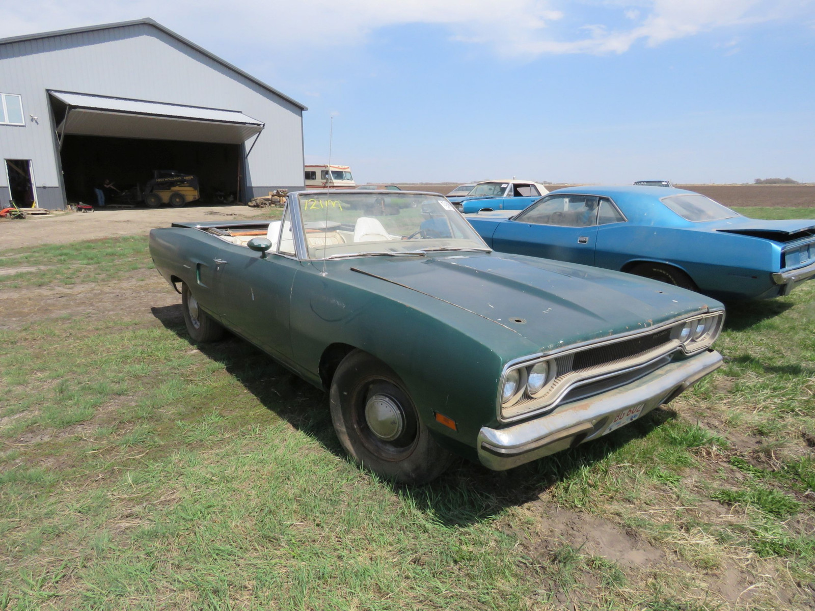 RARE 1970 Plymouth Road Runner Convertible - Image 2