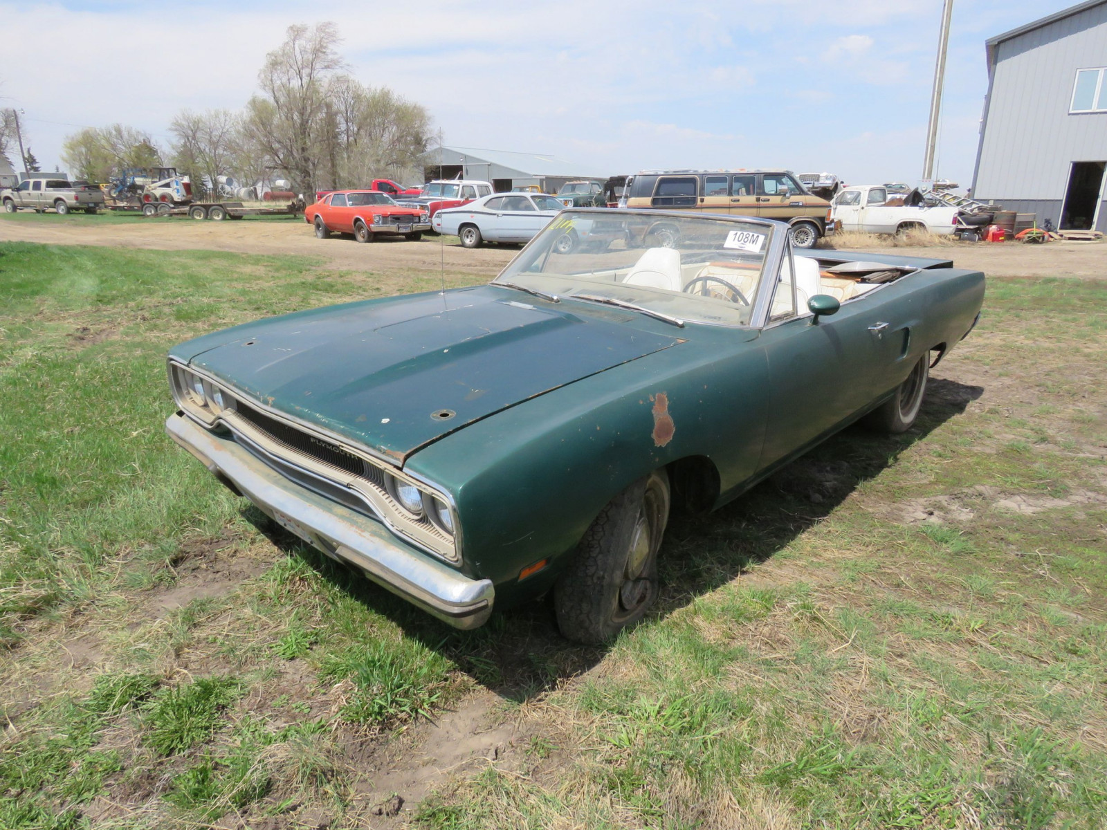 RARE 1970 Plymouth Road Runner Convertible - Image 3