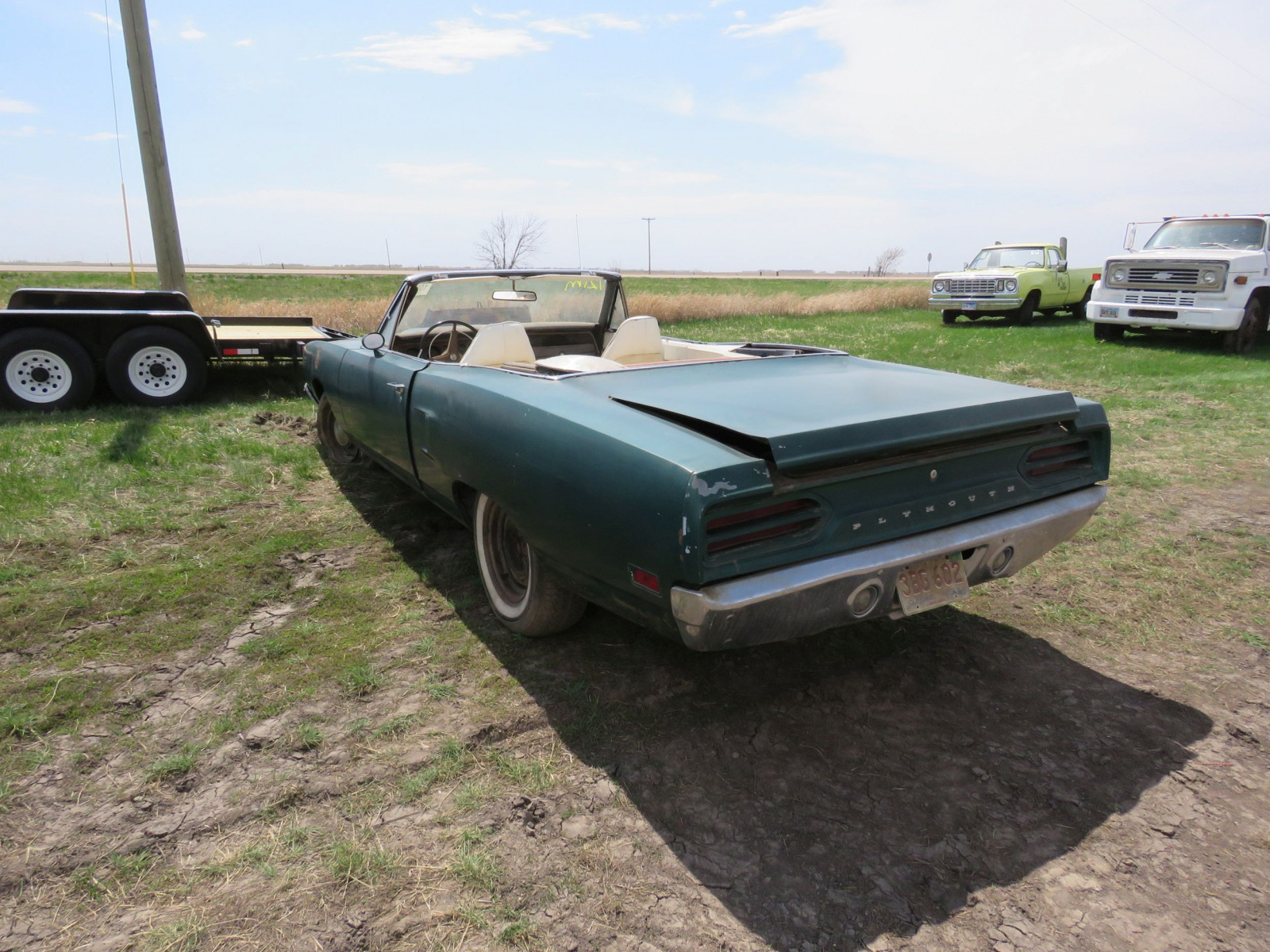 RARE 1970 Plymouth Road Runner Convertible - Image 4