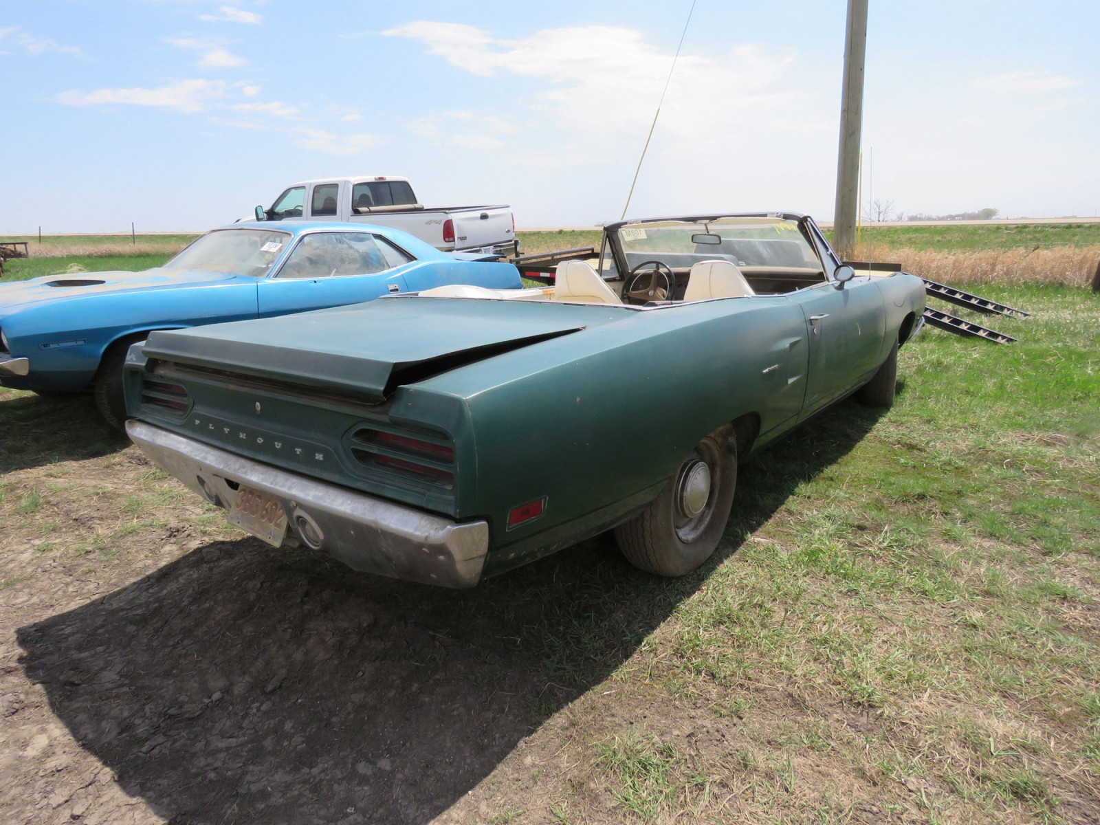 RARE 1970 Plymouth Road Runner Convertible - Image 6