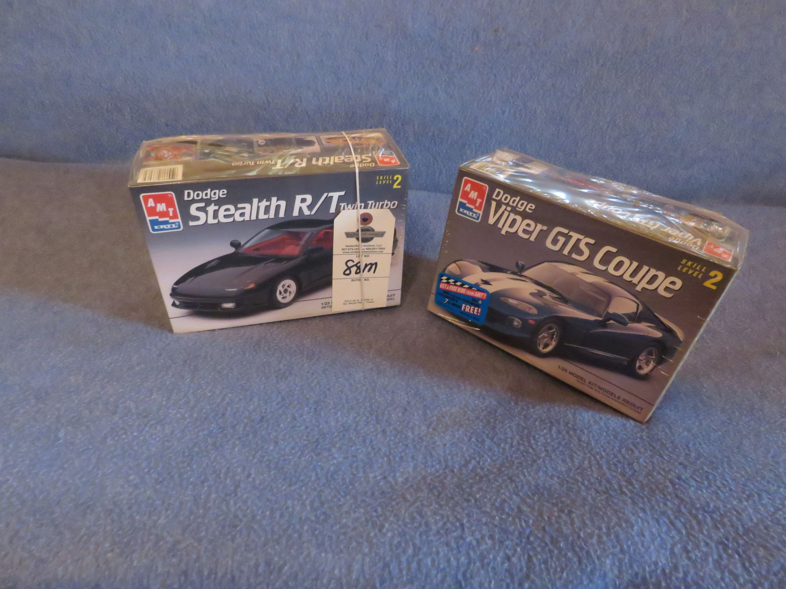 AMT/ERTL Dodge Stealth and Viper GTS Coupe NIB Models - Image 1