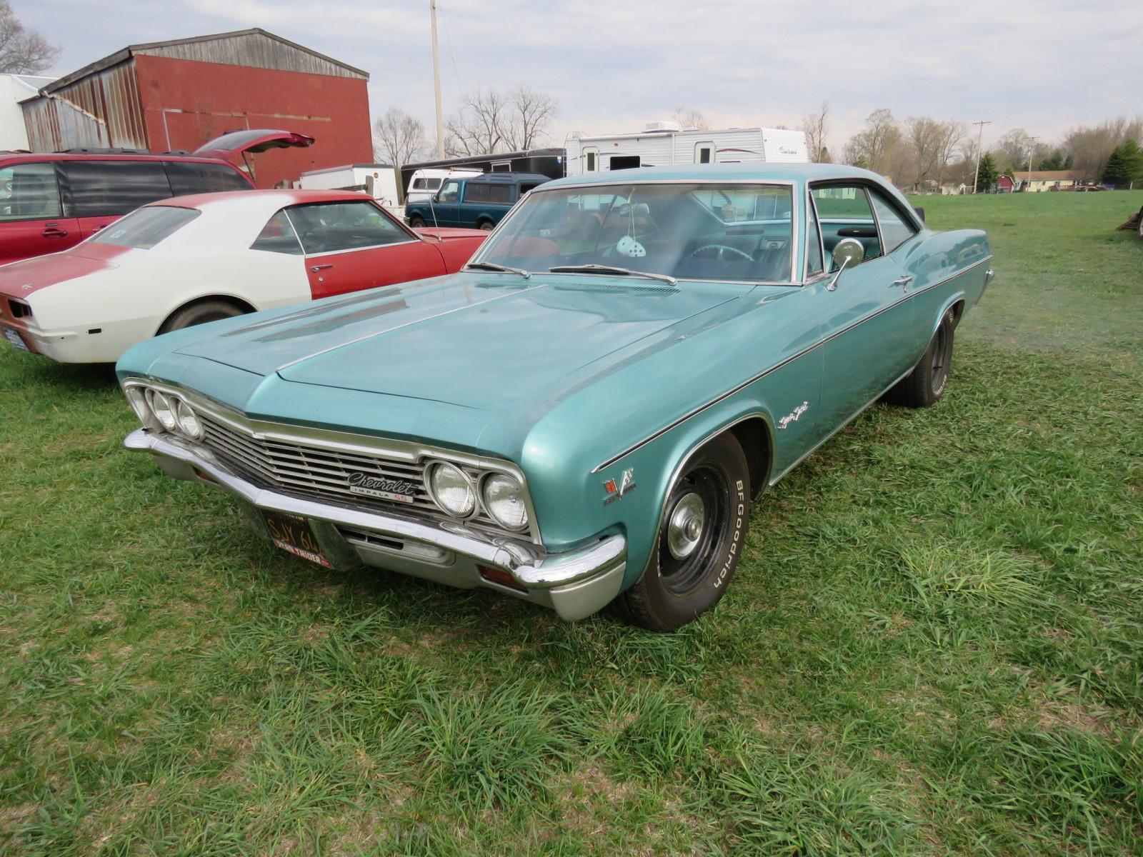 Lot 12v 1966 Chevrolet Impala Ss Vanderbrink Auctions Image 3