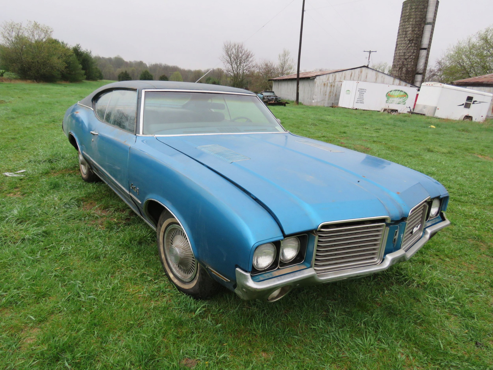 1972 Oldsmobile Cutlass C Coupe - Image 3