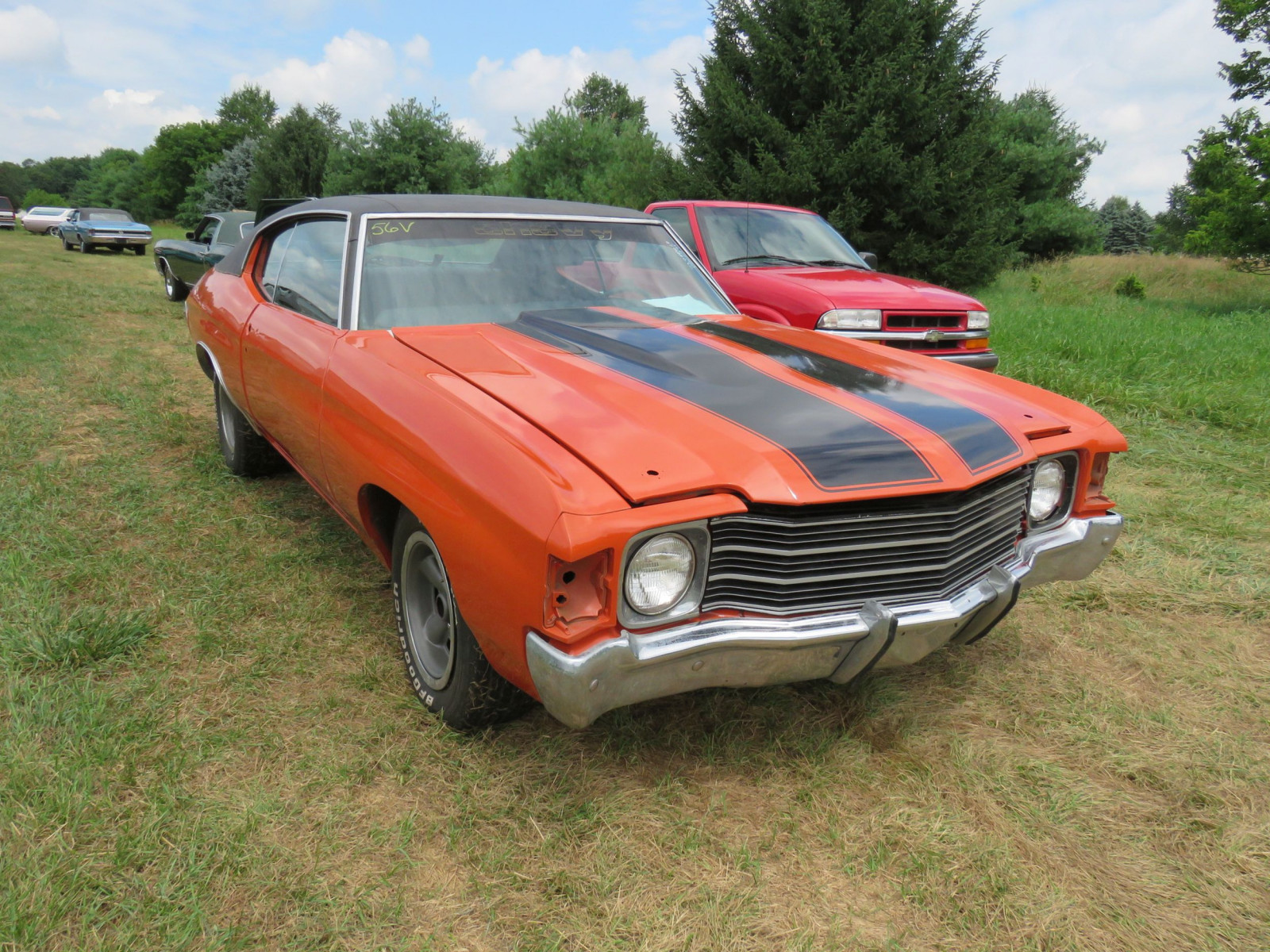 1972 Chevrolet Chevelle 2dr Coupe Rolling Body - Image 1